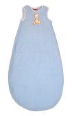 Light blue bear baby sleeping bag
