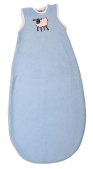 Light blue sheep baby sleeping bag